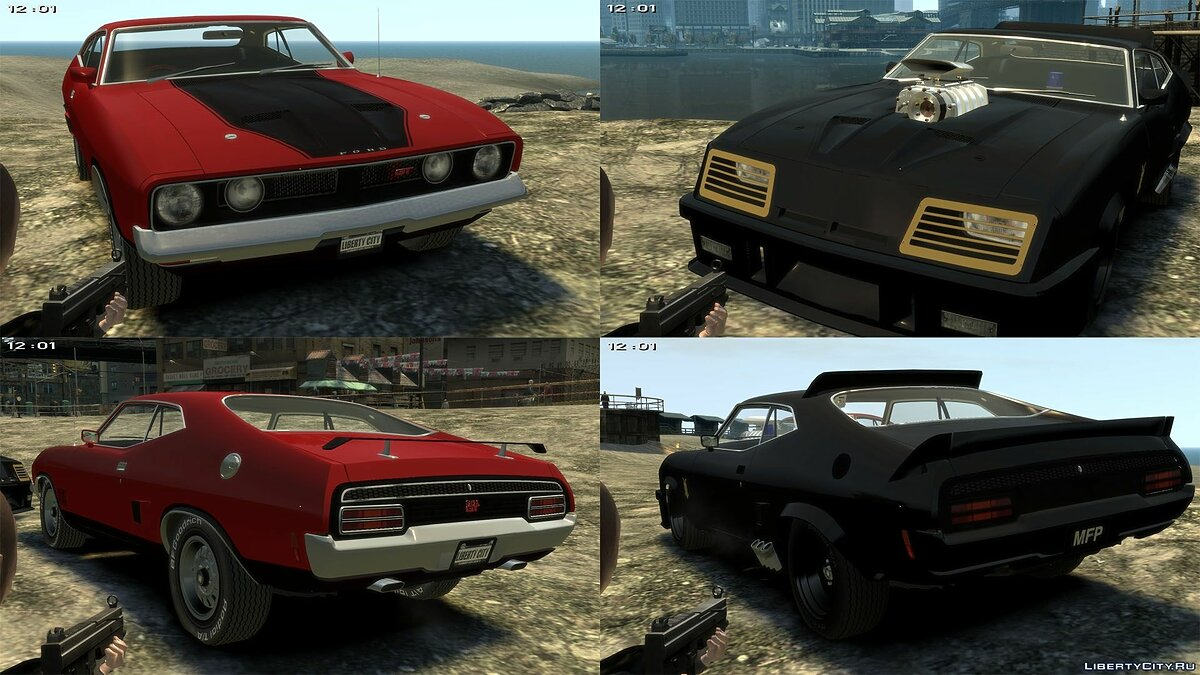 ��ашина Ford 1973 Ford Falcon XB GT351 Coupe для GTA 4