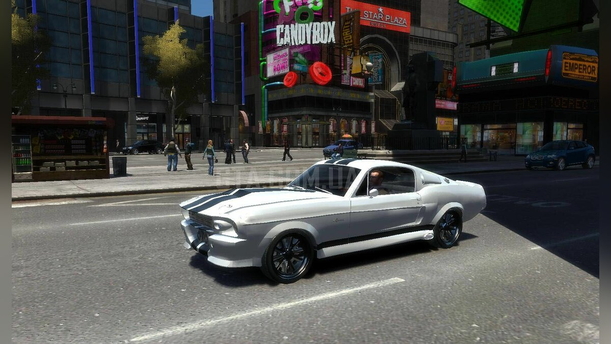 Shelby GT500 Eleanor для GTA 4