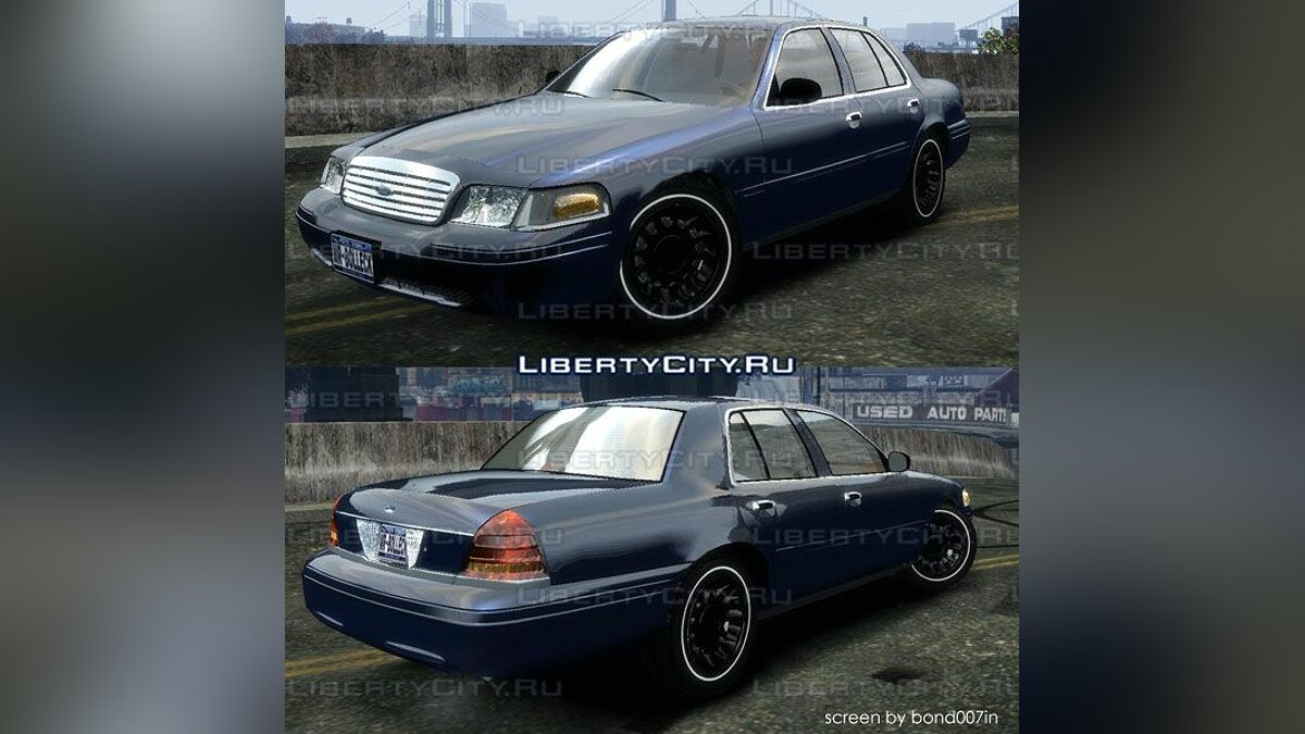 Ford Crown Victoria 2003 для GTA 4