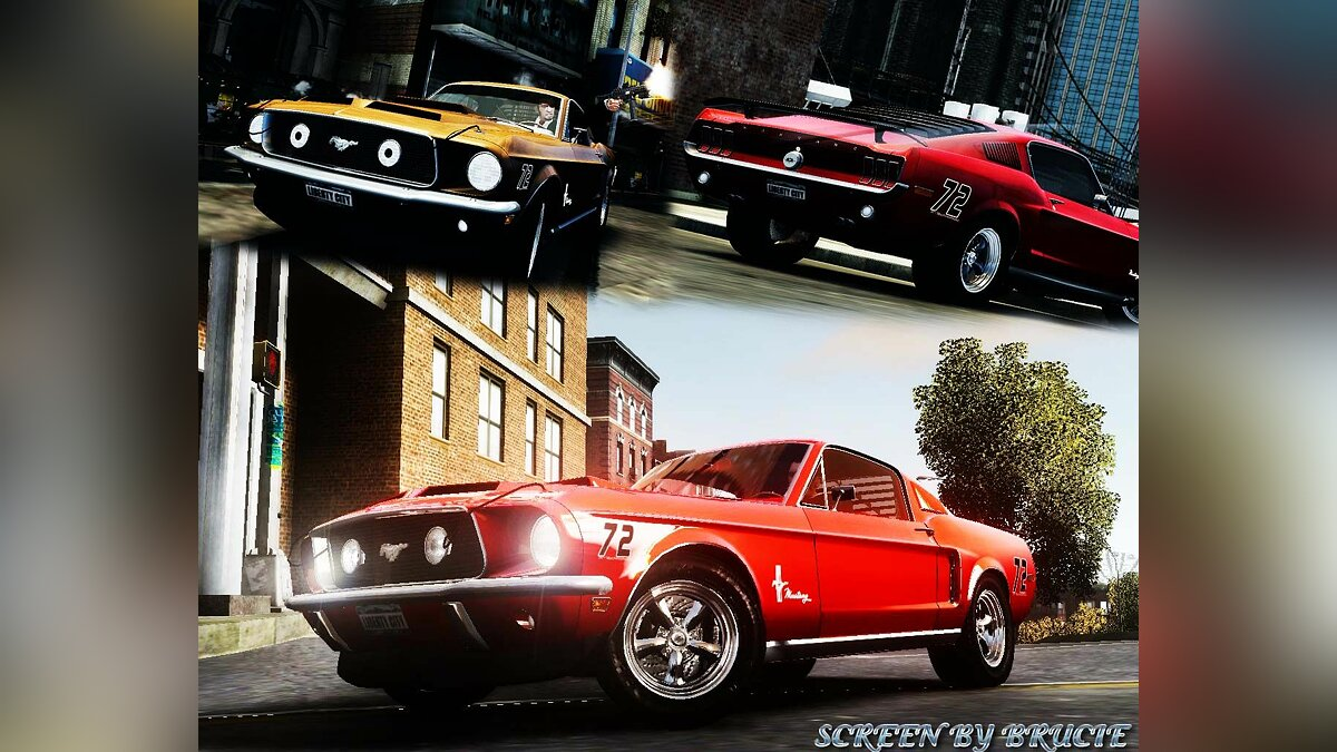 Машина Ford Ford Mustang Fastback 302did Cruise-O-Matic для GTA 4