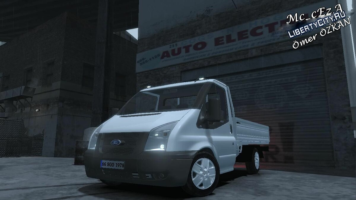 Ford Transit Pickup 2008 для GTA 4