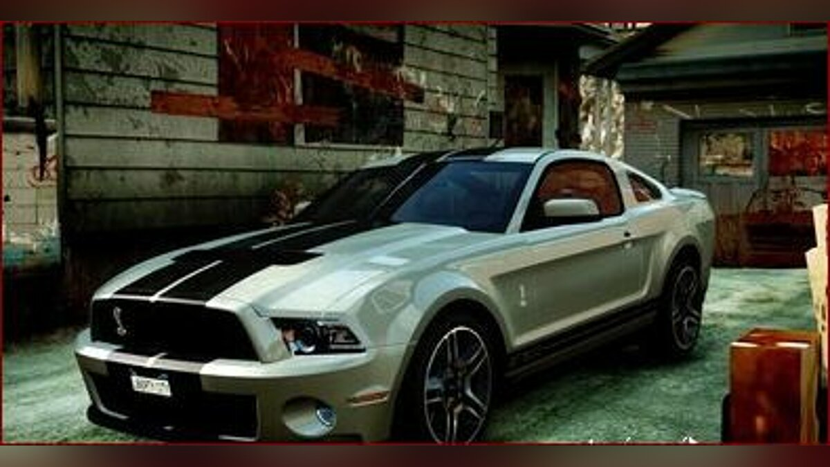 2010 Ford Mustang Shelby GT500 для GTA 4