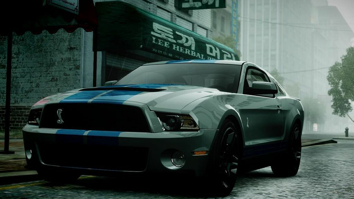 2010 Ford Mustang Shelby GT500 [Final] для GTA 4