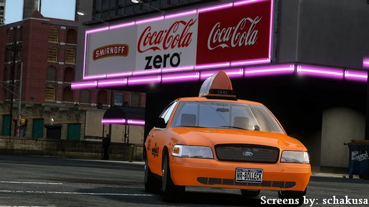 2003 Ford Crown Victoria v.2 Taxi для GTA 4