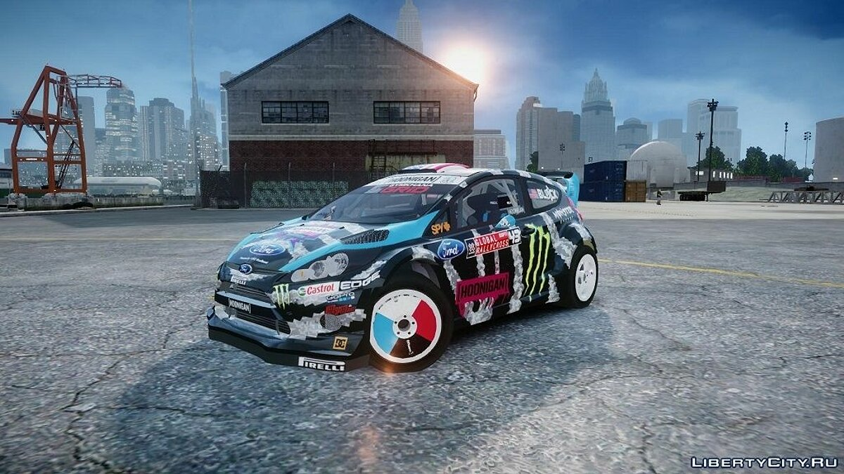 Ford Fiesta RS [Hoonigan] 2014 для GTA 4