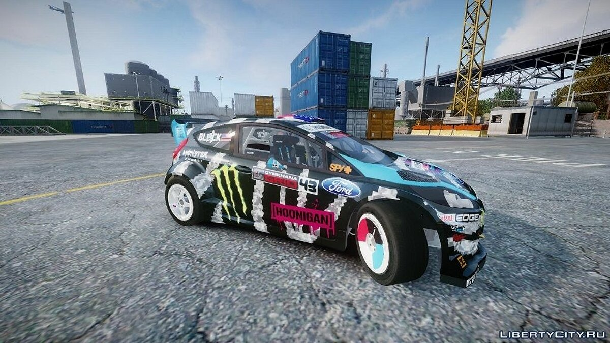 Ford Fiesta RS [Hoonigan] 2014 для GTA 4 - скриншот #2