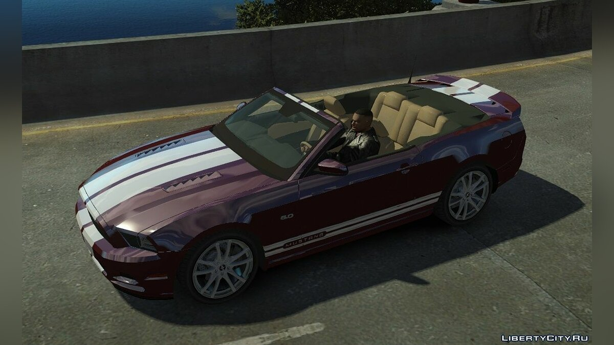 Ford Mustang GT Convertible 2013 для GTA 4 - Картинка #1