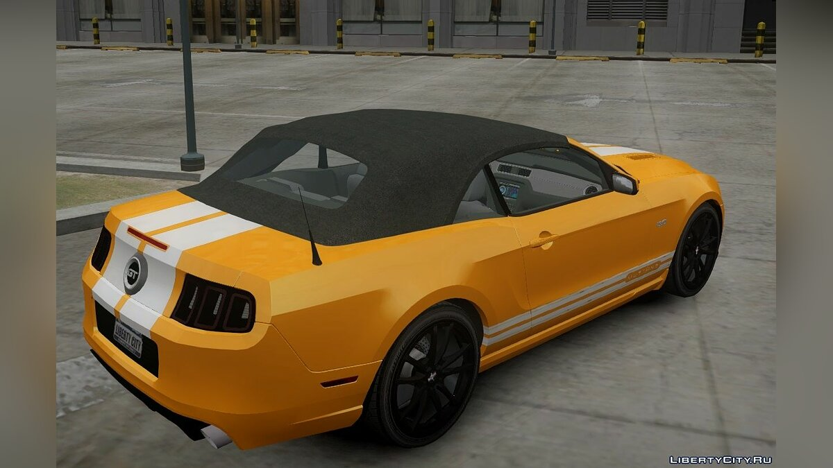 Ford Mustang GT Convertible 2013 для GTA 4 - Картинка #3