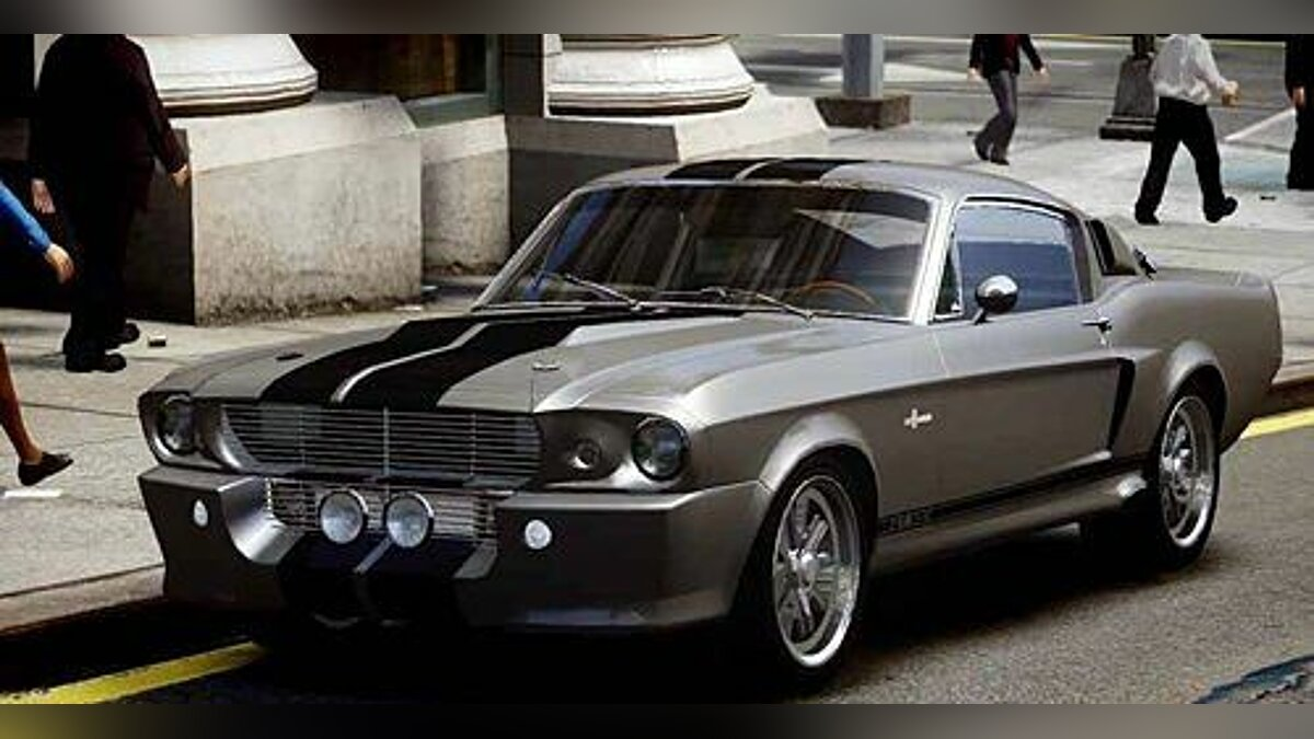 1967 Shelby Mustang GT500 Eleanor v1 для GTA 4