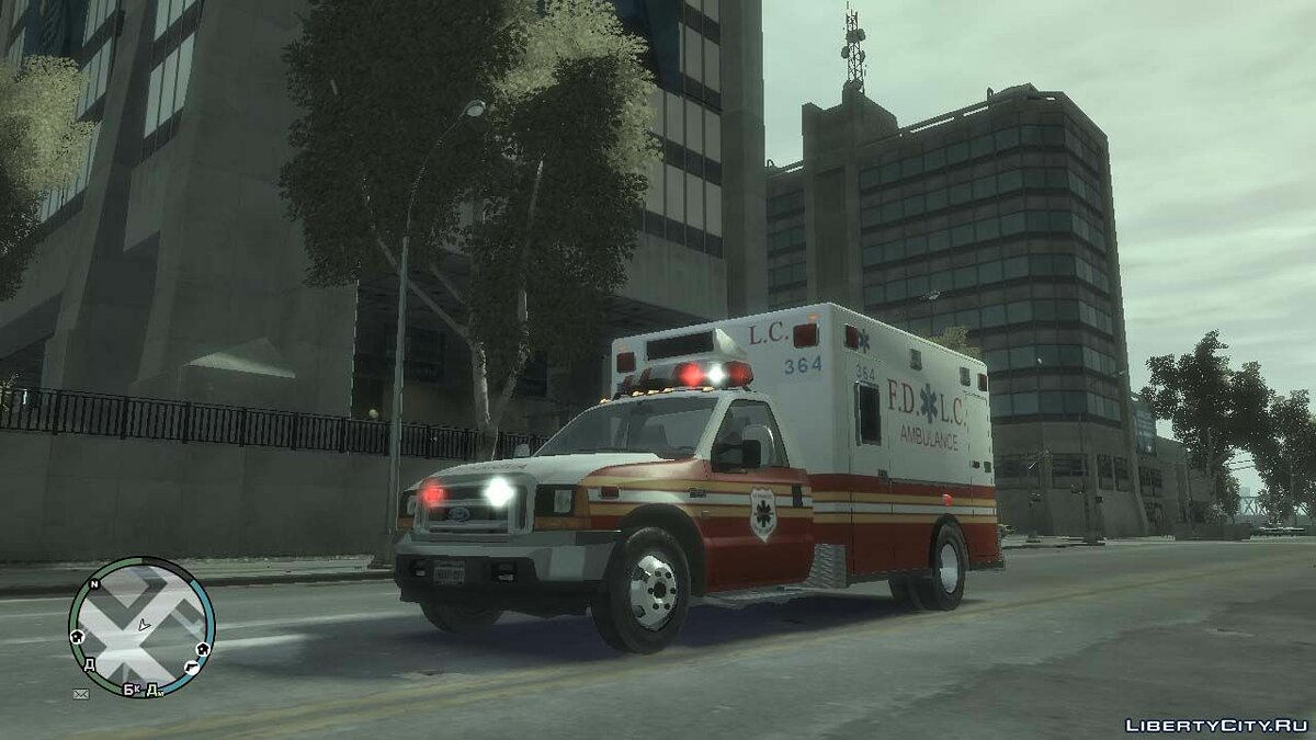 ��ашина Ford Ford F-250 Super Duty FDLC Ambulance для GTA 4