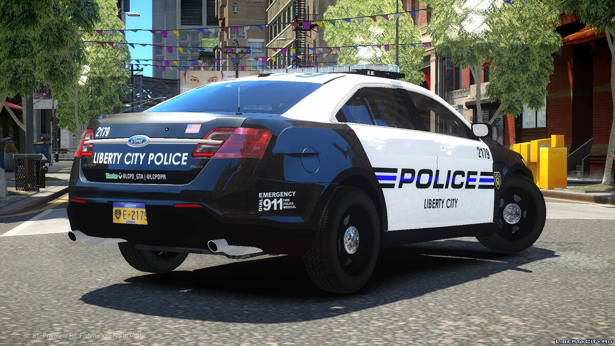 2013 Ford Police Interceptor LCPD для GTA 4 - скриншот #2