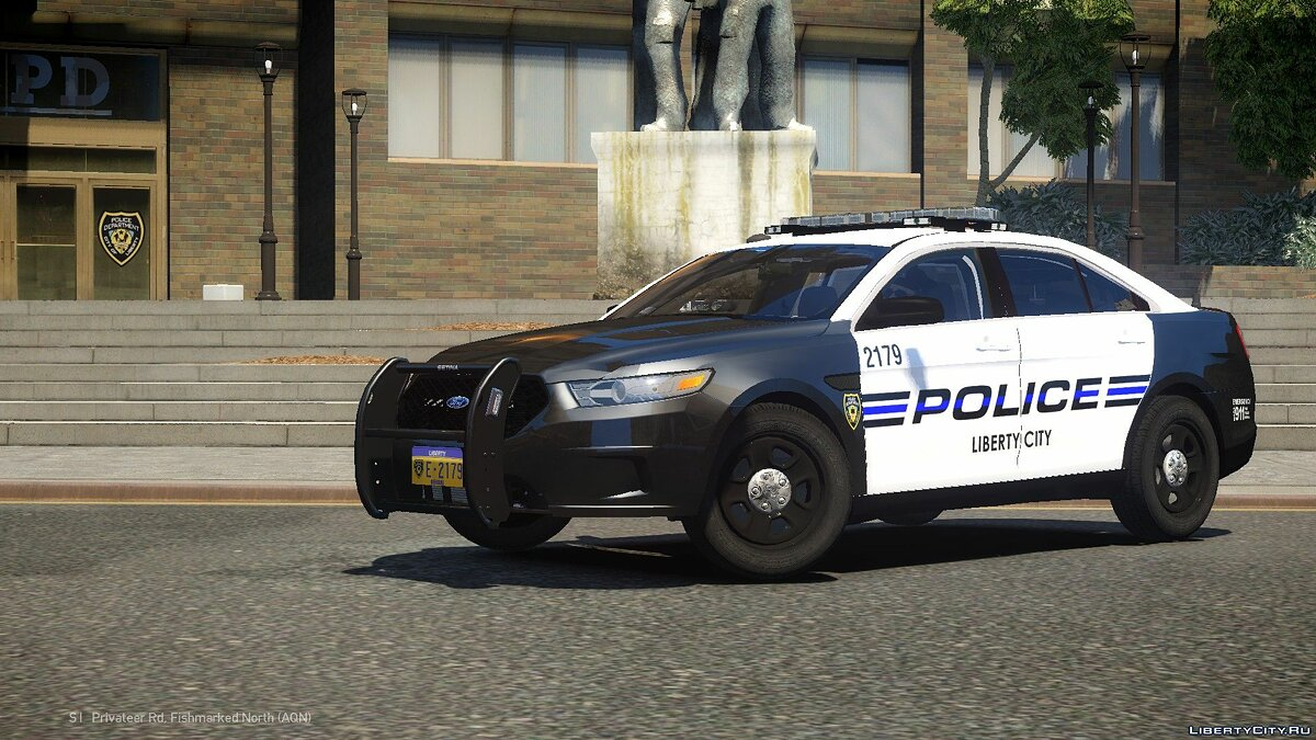 2013 Ford Police Interceptor LCPD для GTA 4