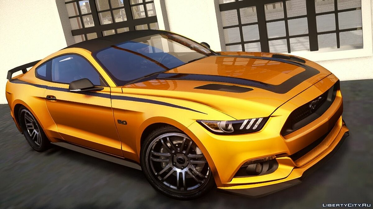 2015 Ford Mustang GT Custom Kit для GTA 4