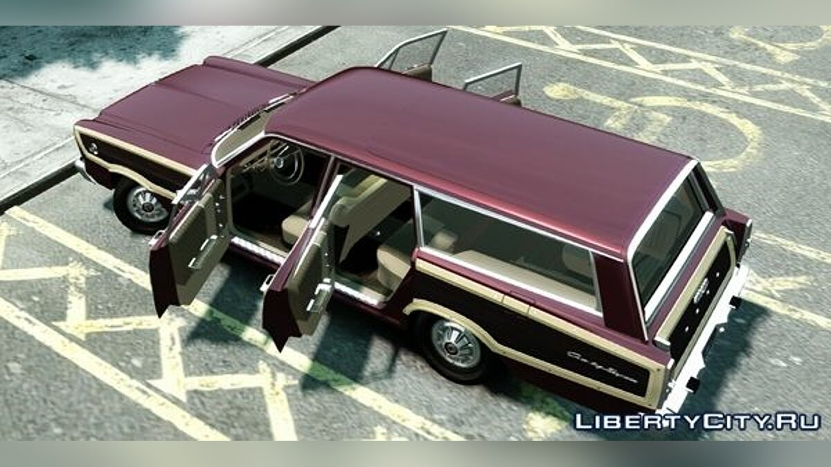Ford Country Squire для GTA 4 - скриншот #2