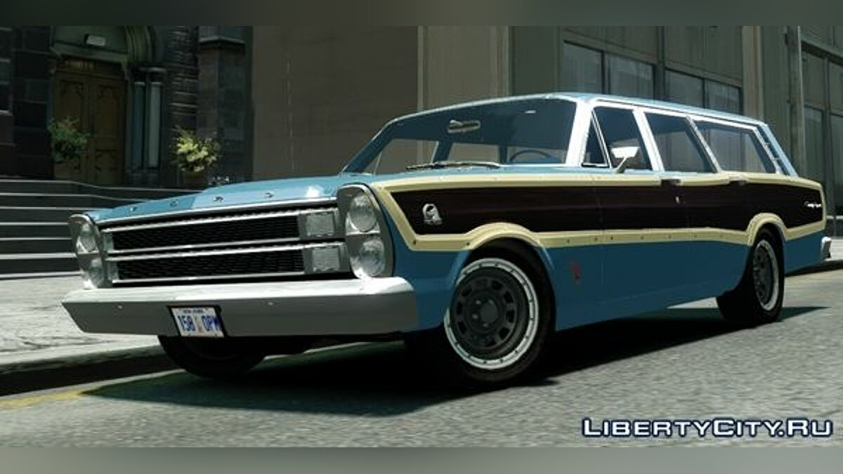 Ford Country Squire для GTA 4 - скриншот #3