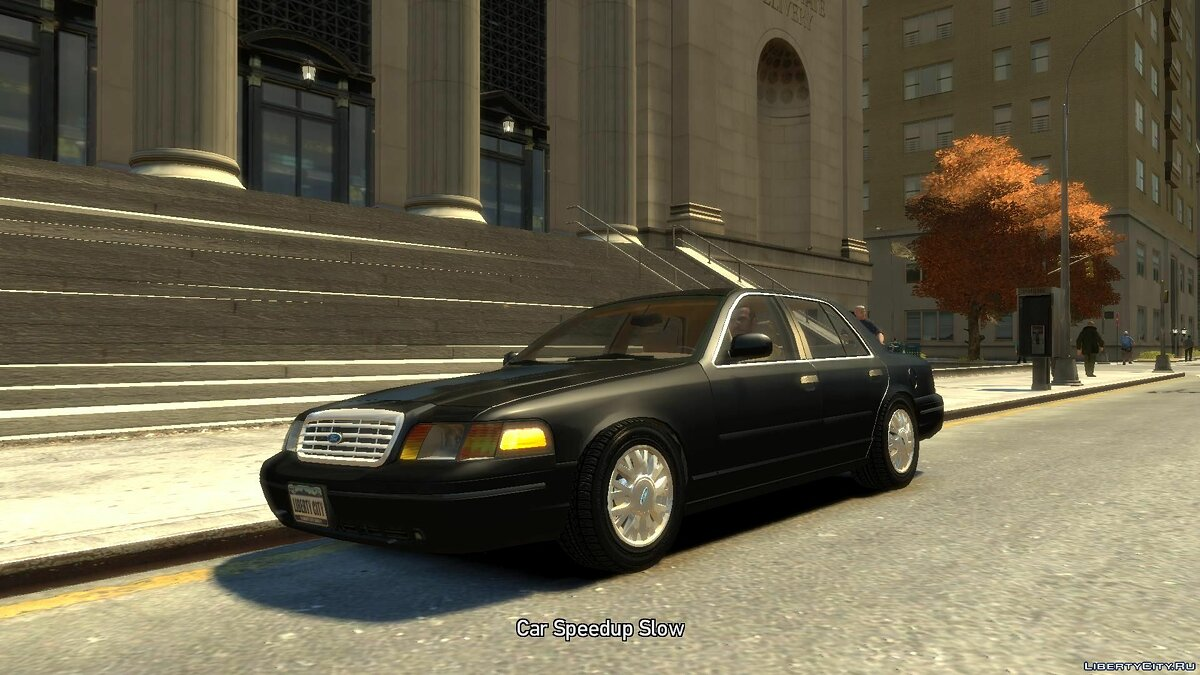 Машина Ford Ford Crown Victoria 2003 для GTA 4