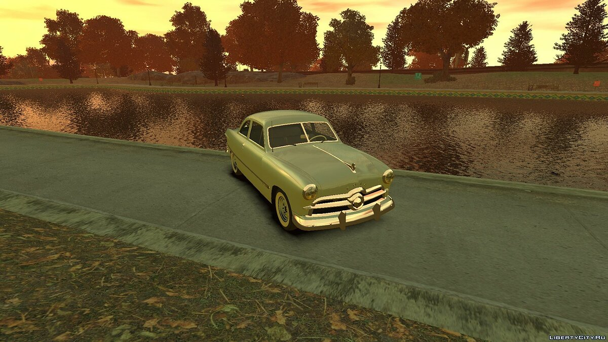1949 Ford Custom Club Coupe для GTA 4