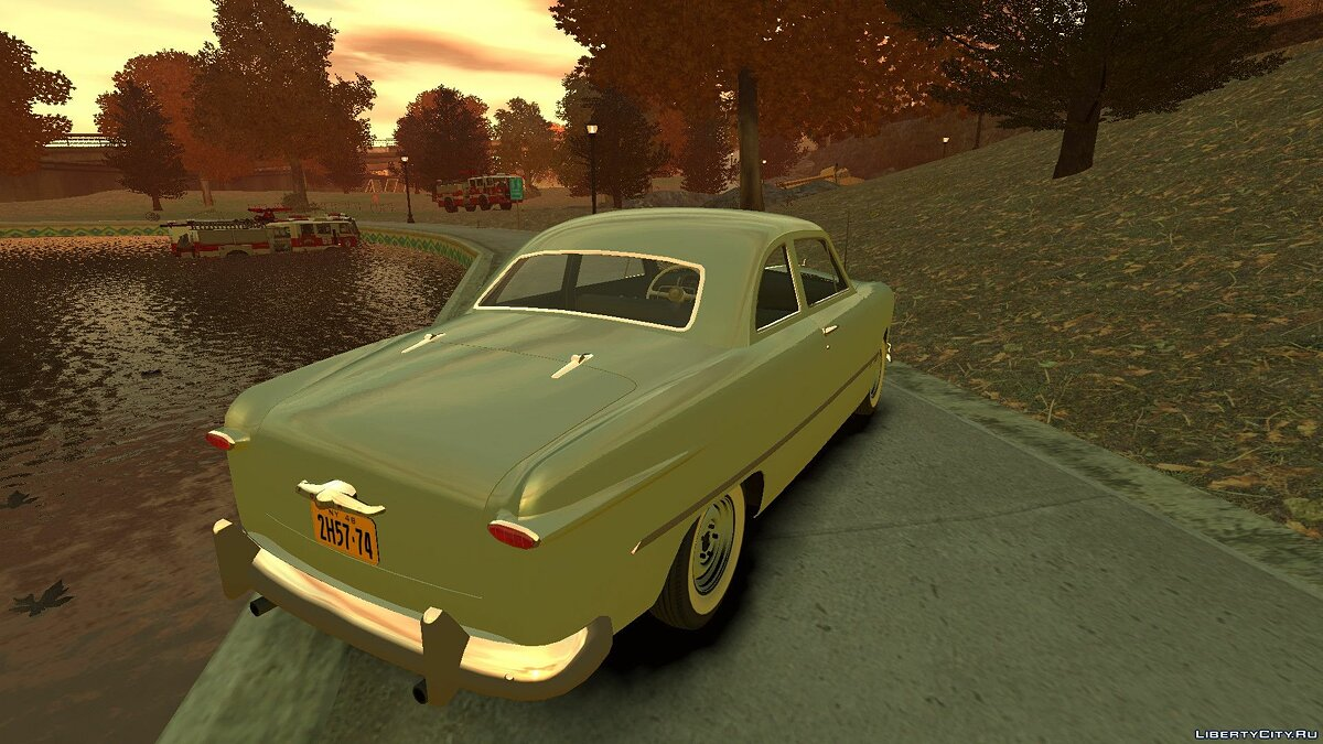 1949 Ford Custom Club Coupe для GTA 4 - скриншот #2