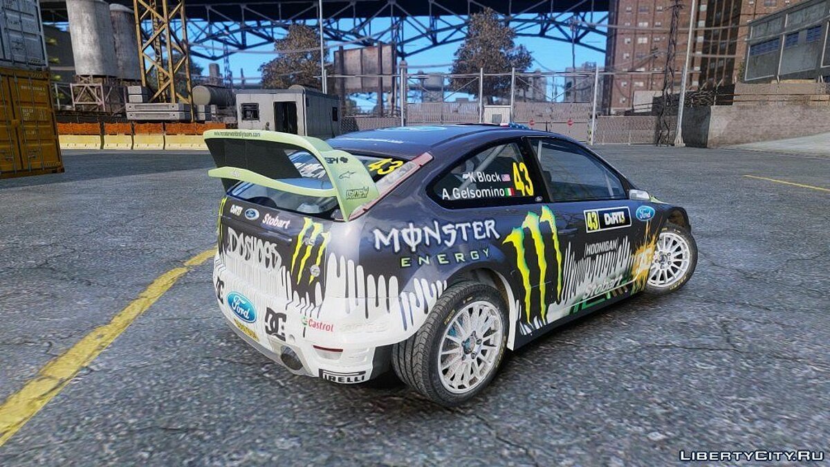 Ford Focus RS WRC (DiRT3) для GTA 4 - скриншот #3