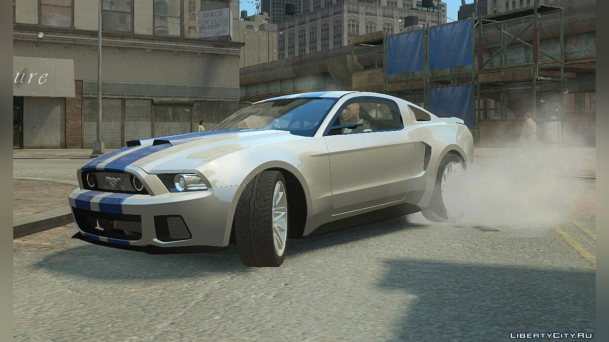 2013 Ford Mustang Widebody NFS Edition для GTA 4