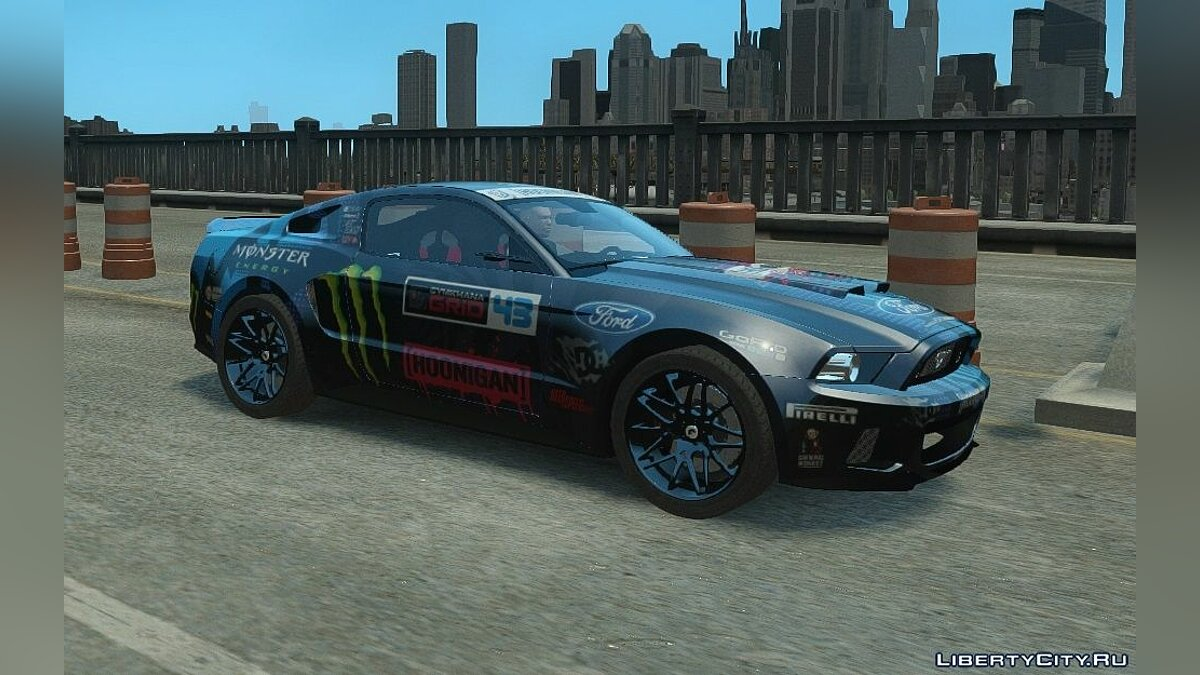 2013 Ford Mustang Widebody NFS Edition для GTA 4 - скриншот #2