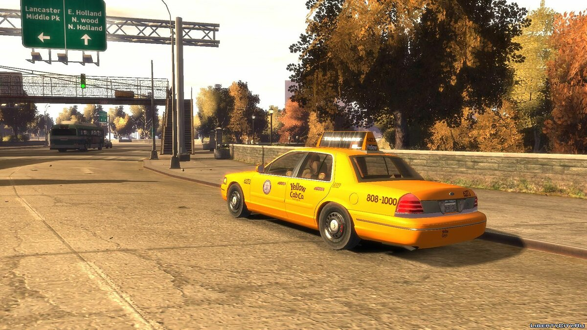 Машина Ford Ford Crown Victoria 2003 Taxi для GTA 4