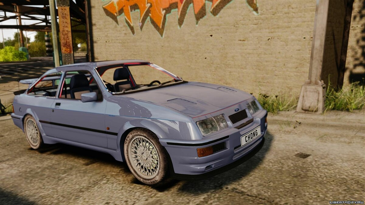Ford Sierra RS500 Cosworth 1987 для GTA 4