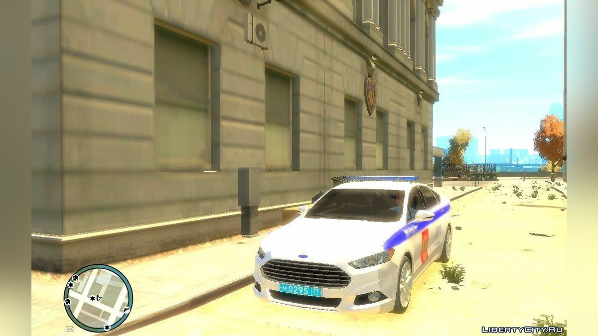 Ford Mondeo Russian Police для GTA 4