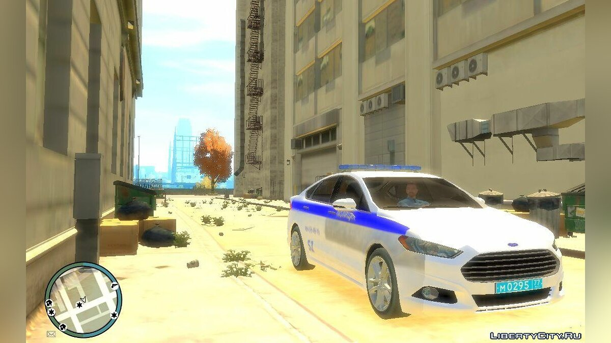 Машина Ford Ford Mondeo Russian Police для GTA 4