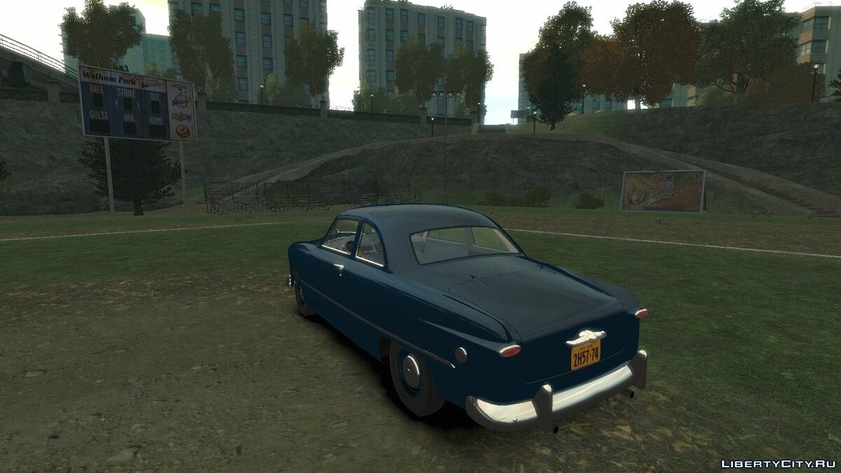1949 Ford Business Coupe V 2.0 для GTA 4 - скриншот #2