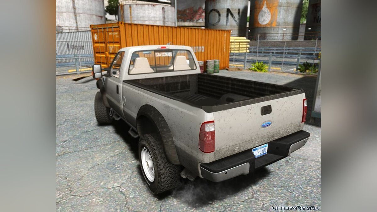 Ford F350 Lifted v1.0 для GTA 4