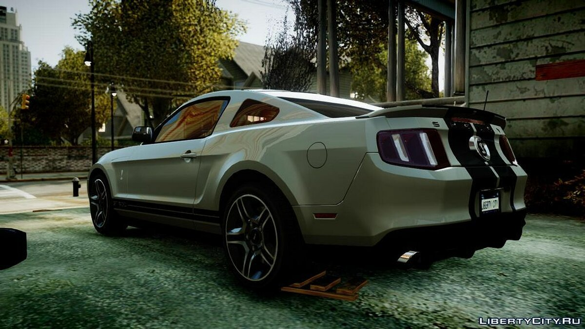 Машина Ford 2010 Ford Mustang Shelby GT500 v1.2 для GTA 4