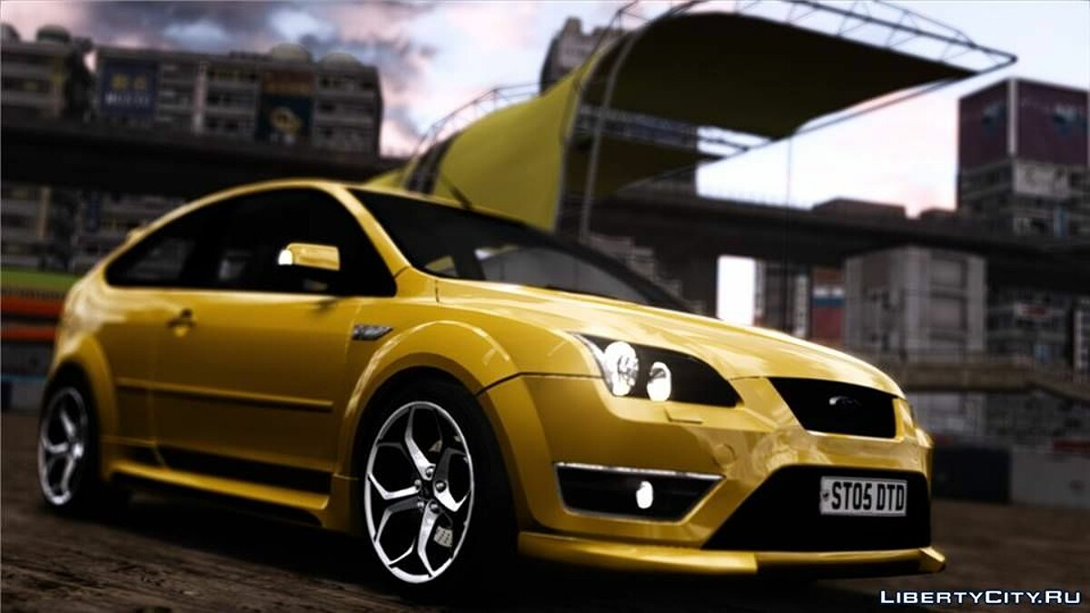 2005 Ford Focus ST Reiger Edition для GTA 4 - скриншот #2