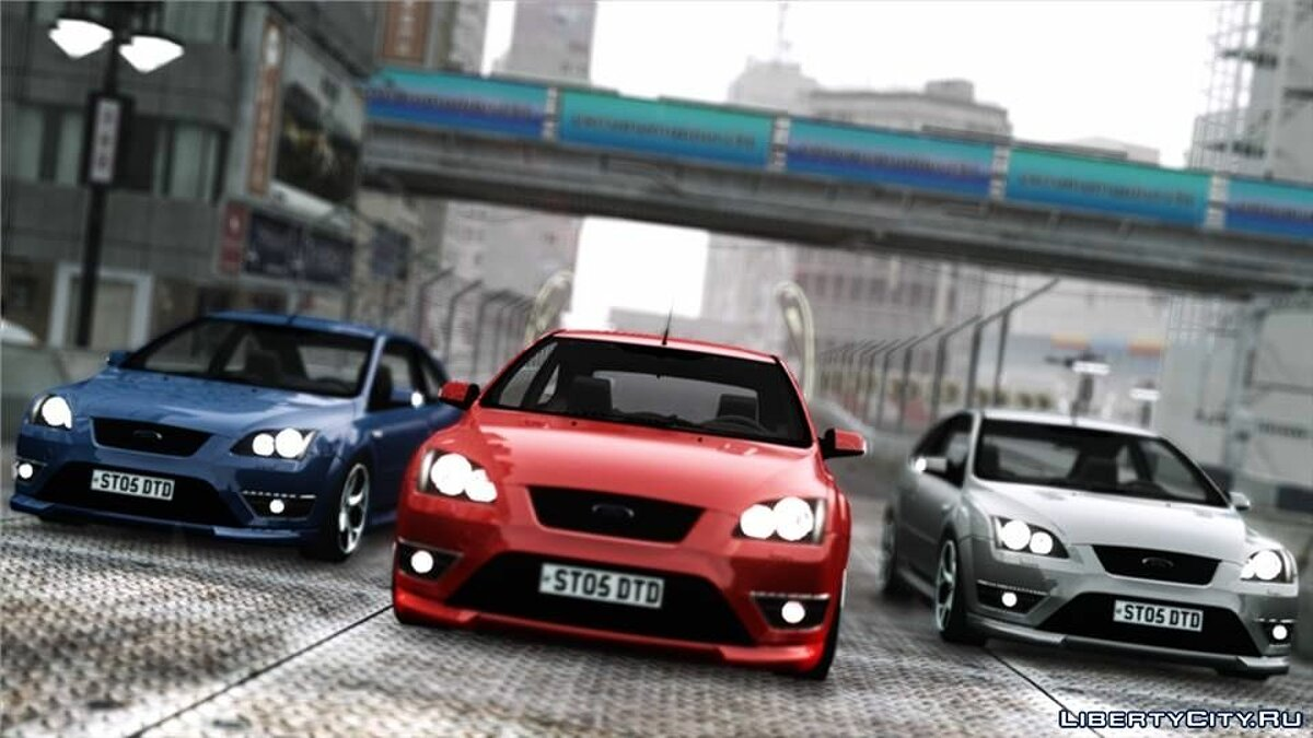2005 Ford Focus ST Reiger Edition для GTA 4