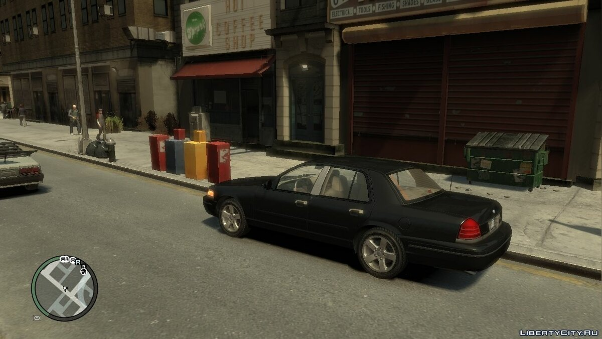 Ford Crown Victoria LX Sport для GTA 4 - скриншот #2