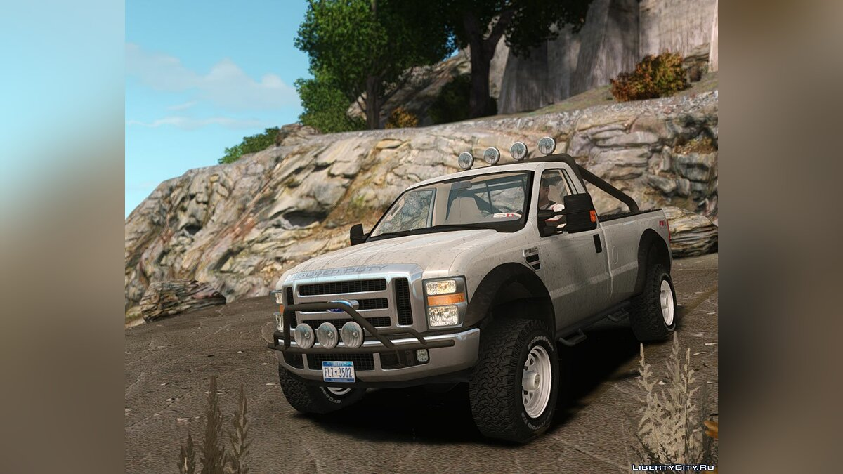 Машина Ford Ford F-350 Lifted для GTA 4