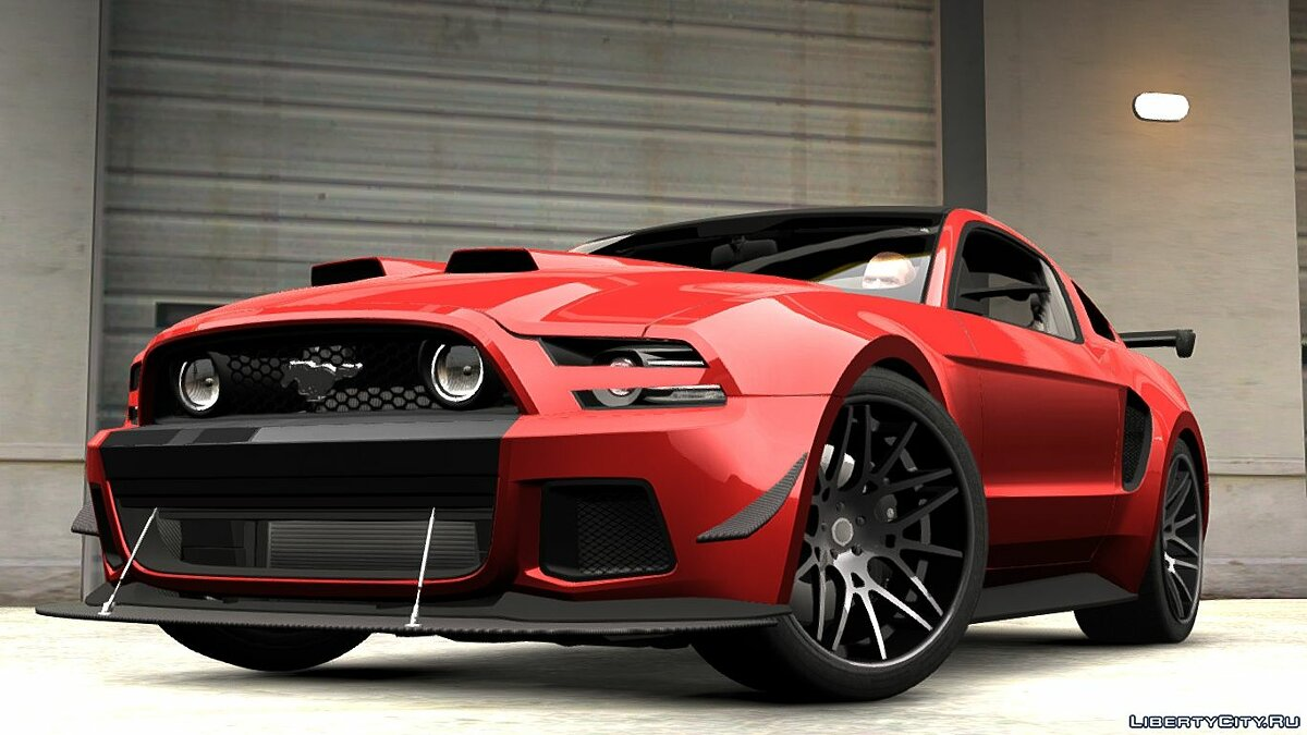 2014 Ford Mustang GT Custom Kit для GTA 4