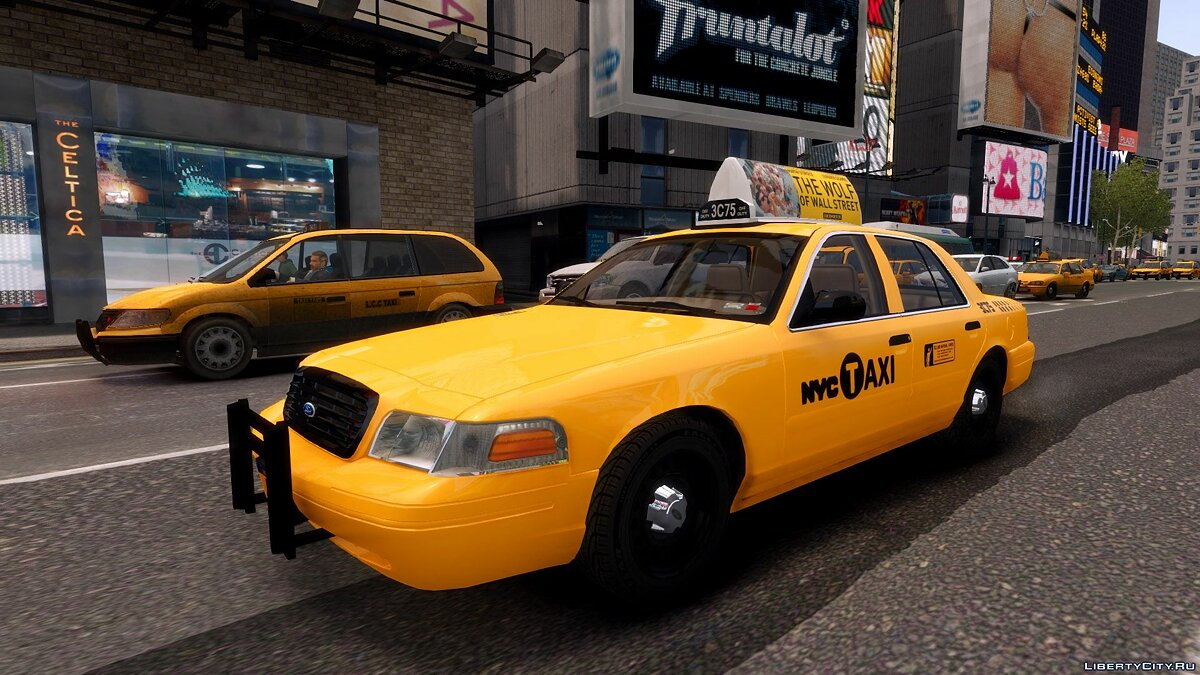 1999 Ford Crown Victoria NYC Taxi для GTA 4 - Картинка #4