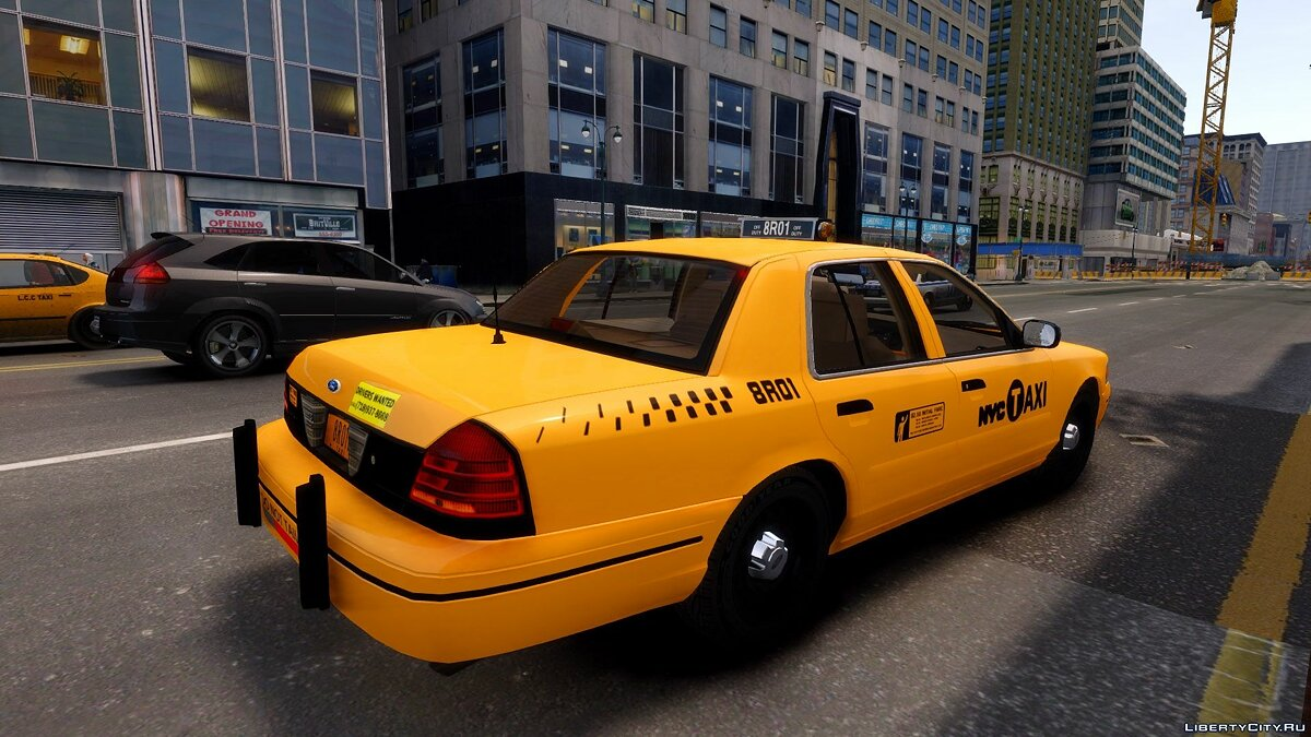 1999 Ford Crown Victoria NYC Taxi для GTA 4 - Картинка #5