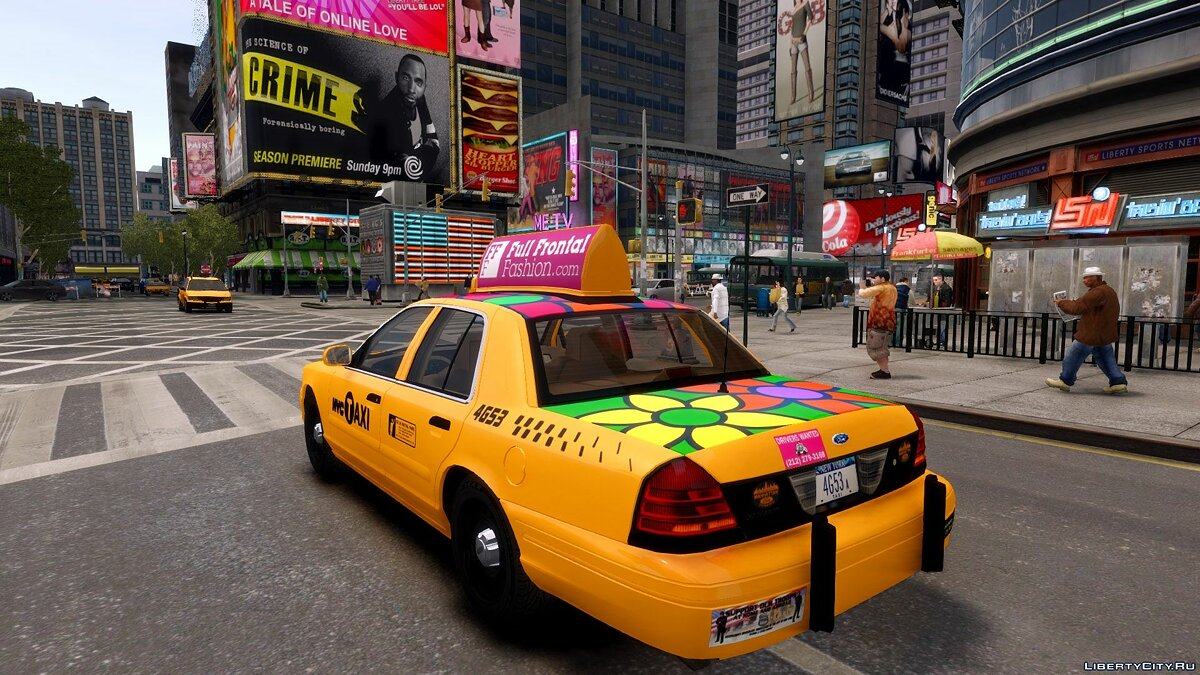 1999 Ford Crown Victoria NYC Taxi для GTA 4 - Картинка #3