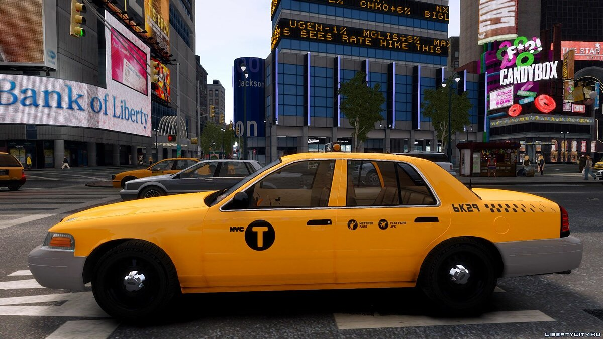 1999 Ford Crown Victoria NYC Taxi для GTA 4 - Картинка #2