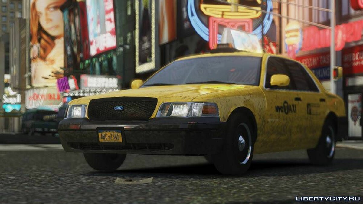 Ford Crown Victoria 2006 Taxi V1.0 для GTA 4