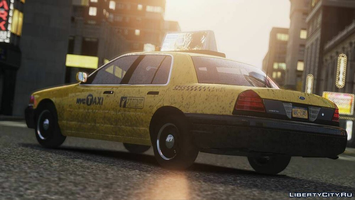 Ford Crown Victoria 2006 Taxi V1.0 для GTA 4 - скриншот #2