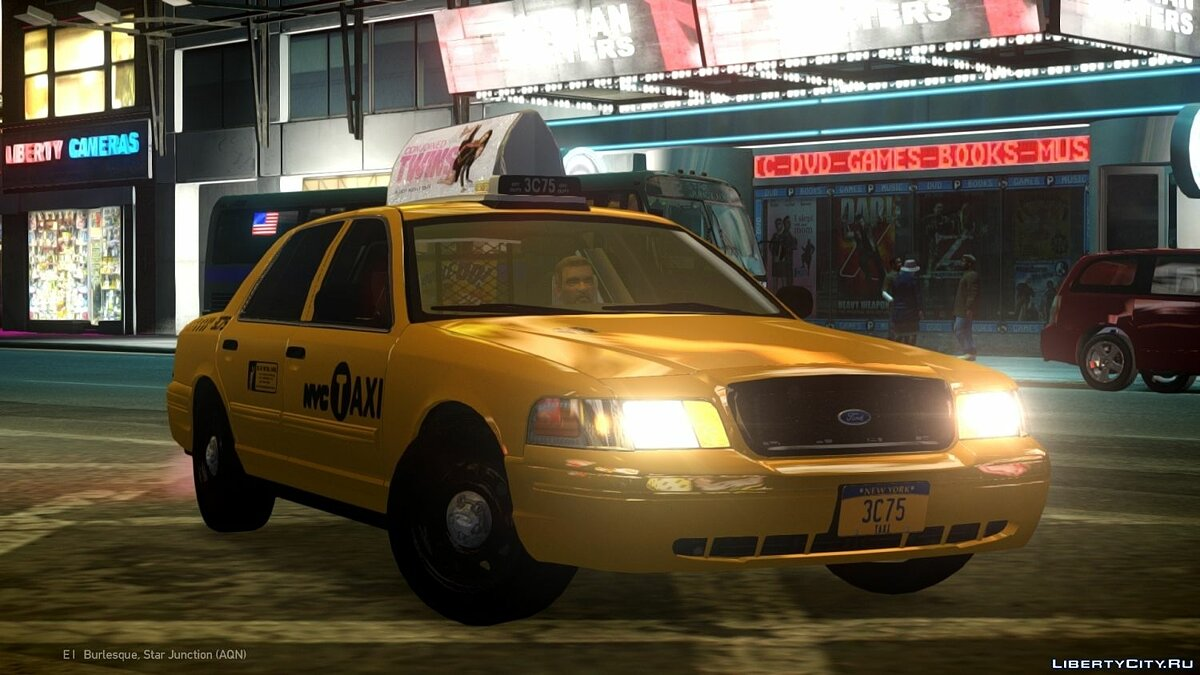 ��ашина Ford 2011 Ford Crown Victoria NYC Taxi для GTA 4