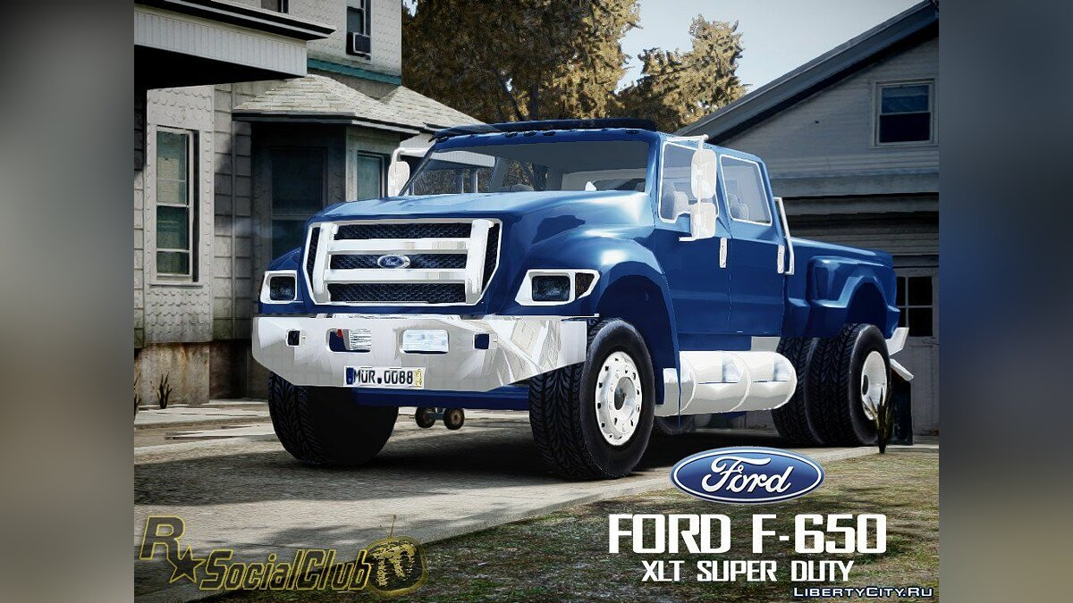Ford F-650 XLT Superduty для GTA 4