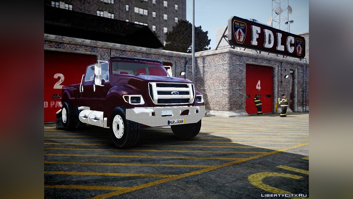 Ford F-650 XLT Superduty для GTA 4 - скриншот #3