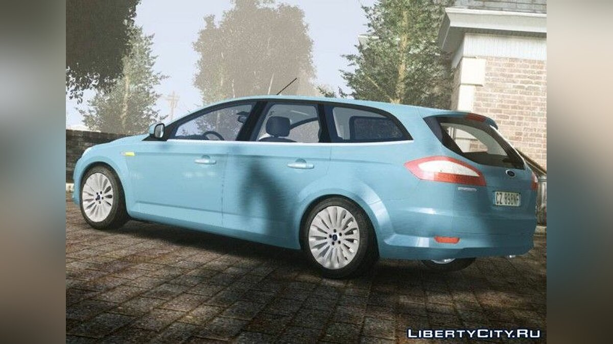 2007 Ford Mondeo Mk.IV v2.0 Final для GTA 4 - скриншот #2