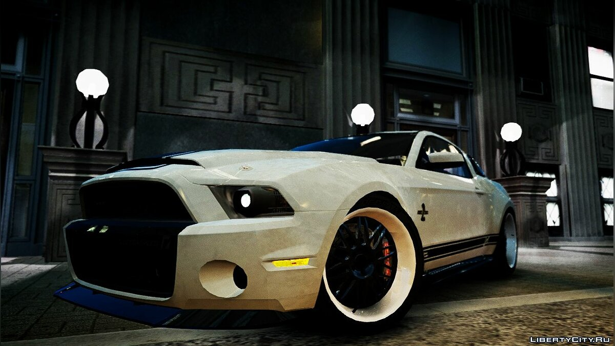 Shelby GT500 Super Snake NFS Edition для GTA 4