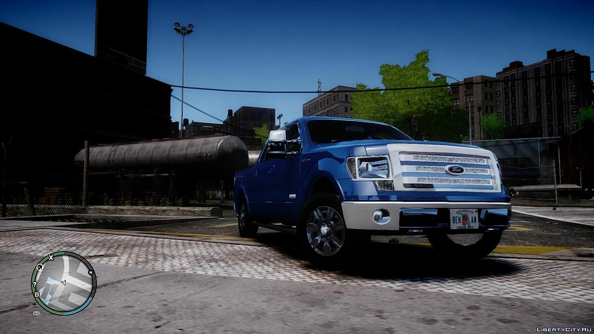 Ford F-150 Platinum для GTA 4
