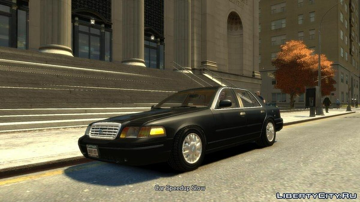 2003 Ford Crown Victoria для GTA 4 - скриншот #2